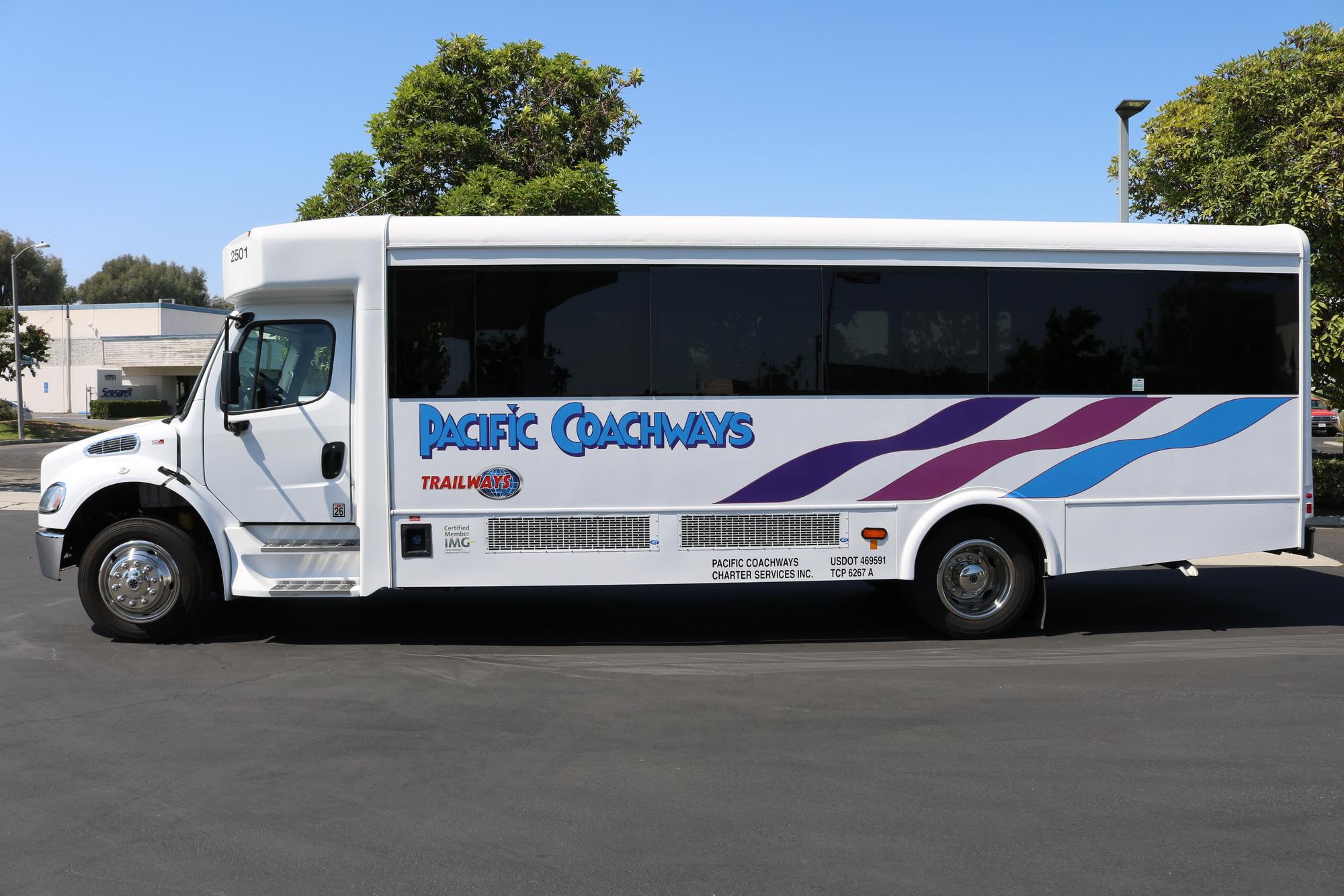 Luxury Charter Buses Irvine