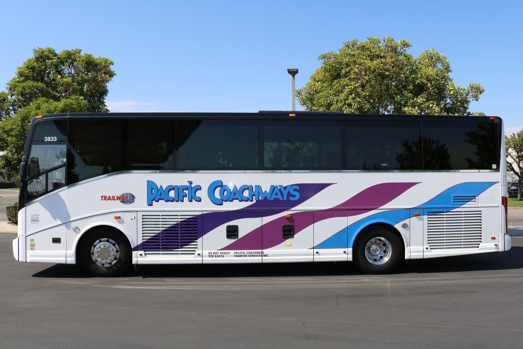 Comfort And Safety With Our Charter Bus