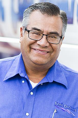 Salvador Rodriguez | Pacific Coachways California